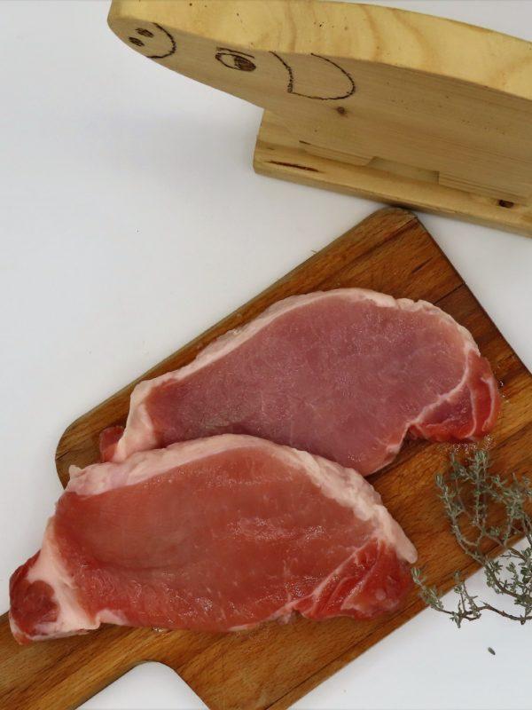 Cote de porc filet